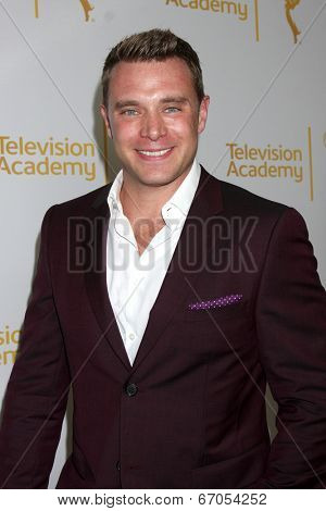 LOS ANGELES - JUN 19:  Billy Miller at the ATAS Daytime Emmy Nominees Reception at the London Hotel on June 19, 2014 in West Hollywood, CA