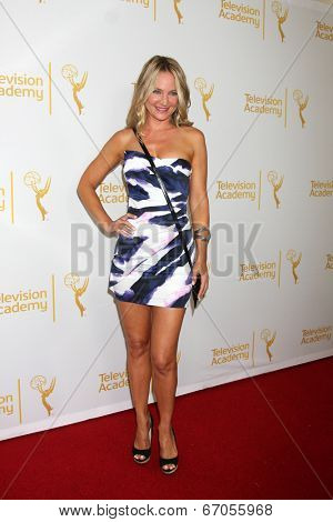LOS ANGELES - JUN 19:  Sharon Case at the ATAS Daytime Emmy Nominees Reception at the London Hotel on June 19, 2014 in West Hollywood, CA