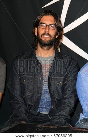 LOS ANGELES - JUN 18:  Rob Bourdon at the Linkin Park Rockwalk Inducting Ceremony at the Guitar Center on June 18, 2014 in Los Angeles, CA