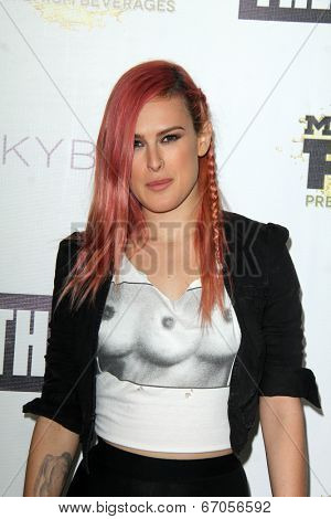LOS ANGELES - JUN 19:  Rumer Willis at the