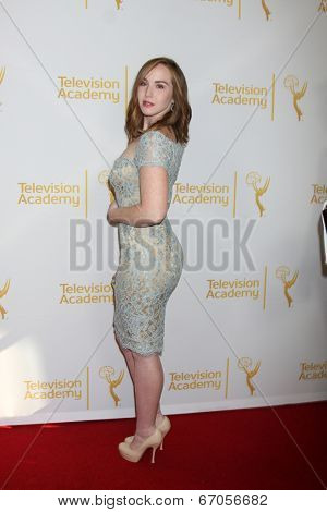 LOS ANGELES - JUN 19:  Camryn Grimes at the ATAS Daytime Emmy Nominees Reception at the London Hotel on June 19, 2014 in West Hollywood, CA