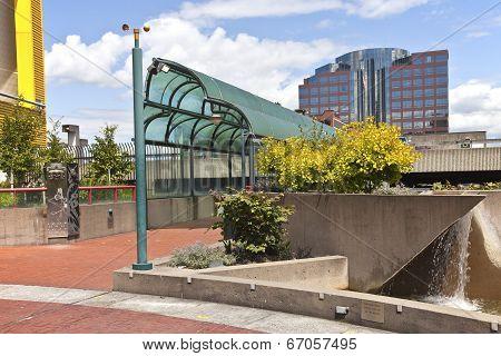 Theater On The Square Park Tacoma Washington.