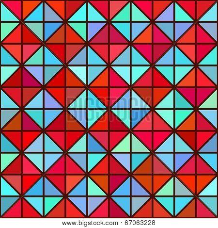 Seamless Bright Geometric Texture