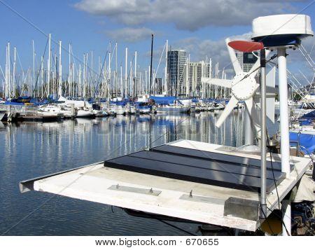 Solar Sailboat