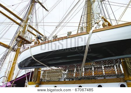 Old Sailing Vessel
