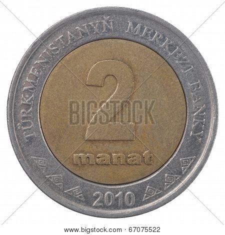 Turkmenistani Manat Coin