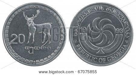 Georgian Tetri Coin