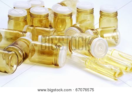 Empty Pill Bottles