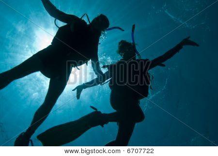 Having Fun Underwater