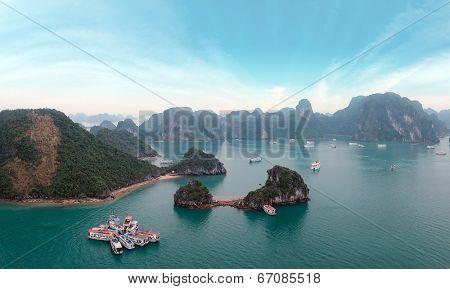 Halong Bay panorama, Vietnam