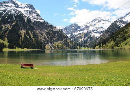 Visalpsee in Austria