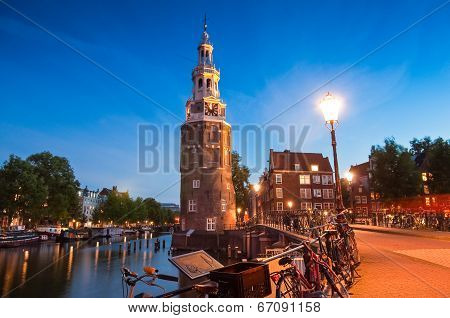 Montlebaanstoren Tower, Amsterdam