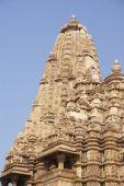 foto of kandariya mahadeva temple  - Exterior decorations of the Kandariya Mahadeva Temple Khajuraho in India Asia - JPG