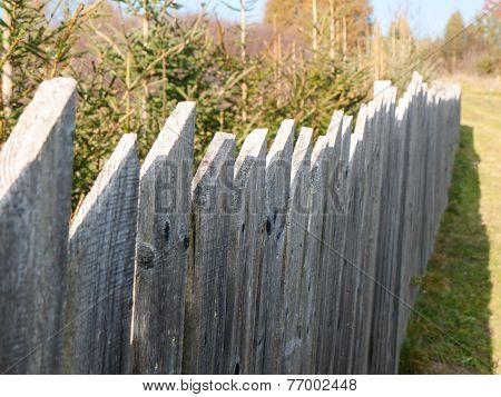 Old Farmyard Fence