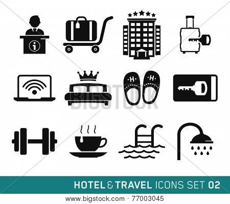 Hotel & Travel icons set // 02