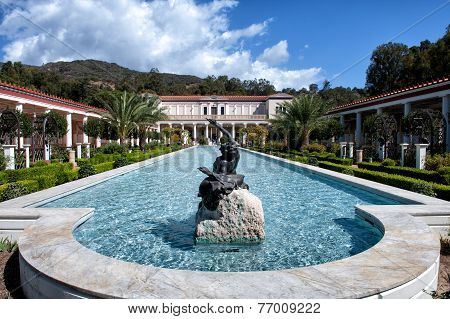 The Getty Villa in Malibu, Los Angeles
