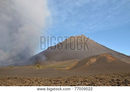 Volcanic Eruption In Cabo Verde