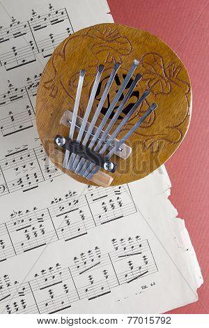 Coconut Kalimba Thumb Piano