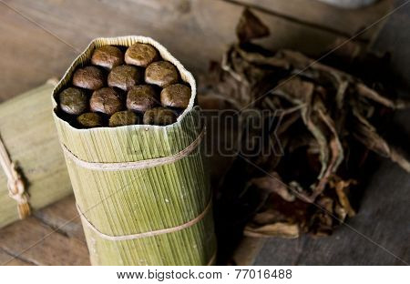 Typical Cubano Cigars