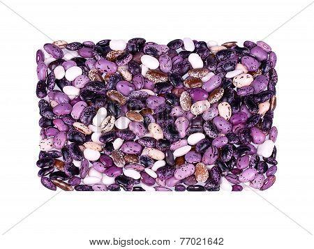 Mottled beans