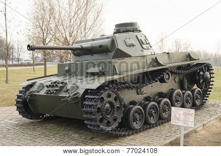 The average German tank T3 since the Second World War