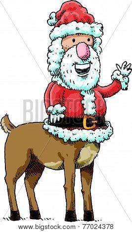 Centaur Santa