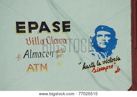 Cuba's Politic Propaganda at Villa Clara ATM