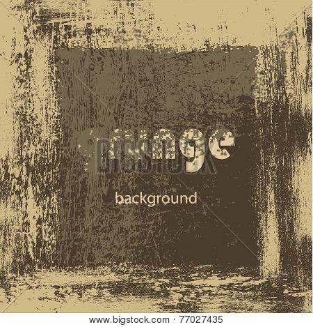 Brownish Beige Grunge Background