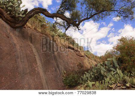 Jordan river bed Lalibela Ethiopia UNESCO World Heritage site