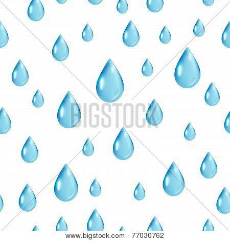 Raindrops Seamless