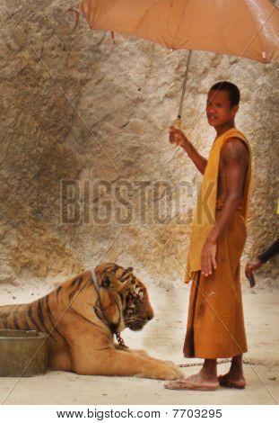 Monch Tigertemple, Thailand