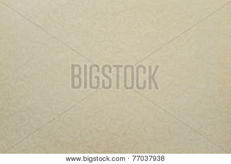 Paper Of Pale Color With Openwork Texture