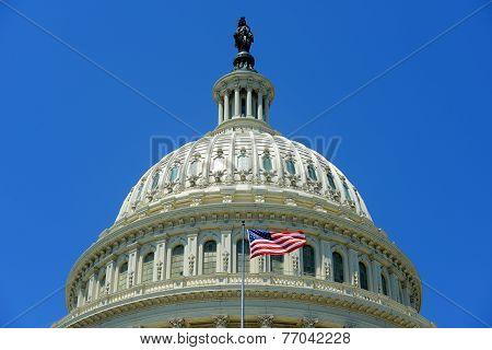 United States Capitol Building in Washington DC, USA