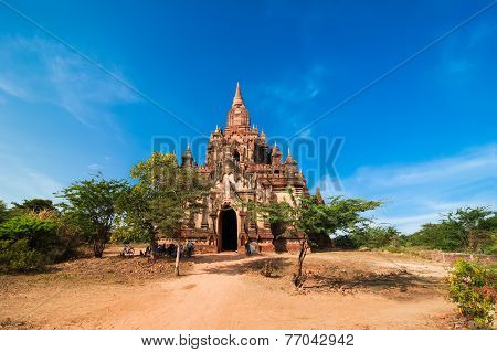 Seinnyet Ama Temple At Bagan, Myanmar (burma)