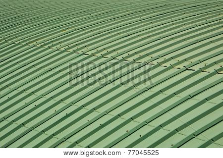 Green Roof Top Pattern
