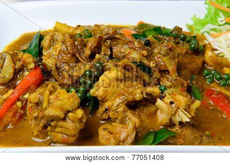 Spicy Fried Stir Chicken