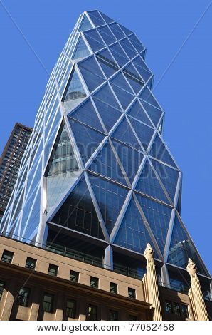 Hearst Tower in New York City houses