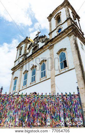 The famous Bonfim Church in Salvador, Bahia, Brazil.