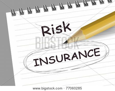 Choosing Insurance Instead Of Risk With A Pencil
