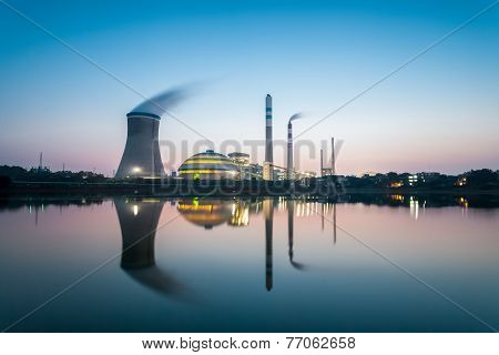 Coal Power Plant In Nightfall