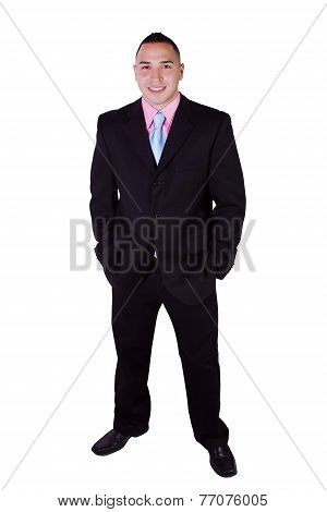 Handsome Hispanic Businessman