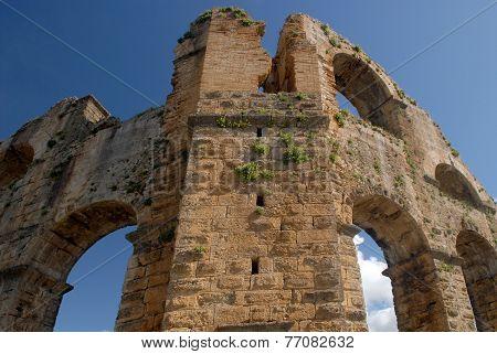 Ancient Aqueduct - Ruins