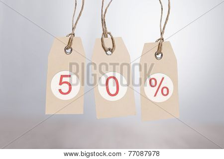 50% Discount Tags
