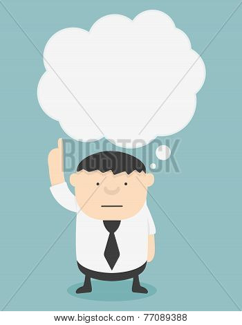Business Fat With Speech Bubbles