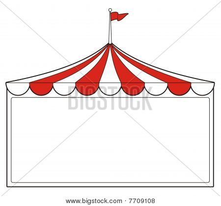 Tent Sign.