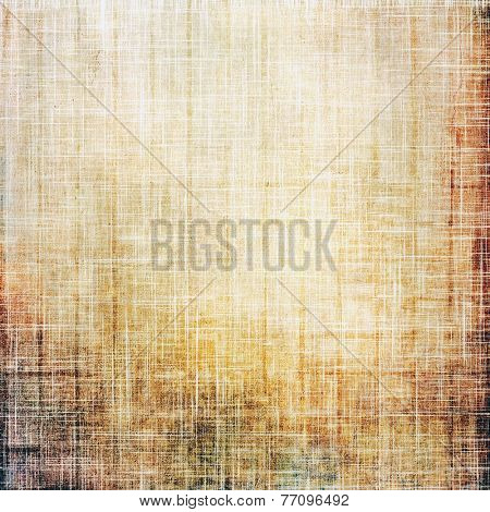 Grunge aging texture, art background. With different color patterns: gray; orange; brown; yellow