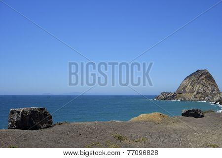 Ocean Coast near Point Mugu, CA