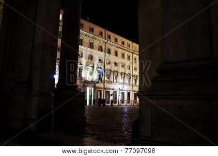 Rome. Chigi Palace  Government's Seat
