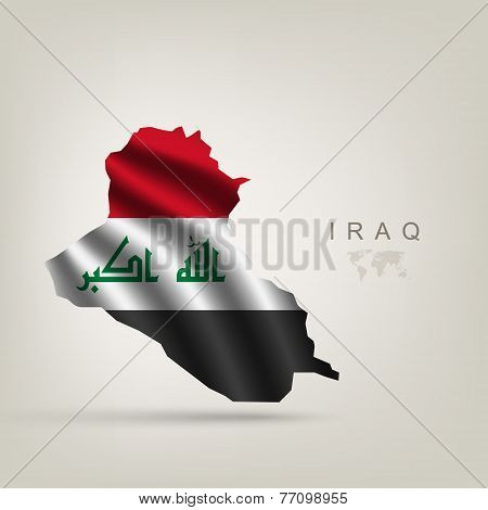 Flag of Iraq as a country