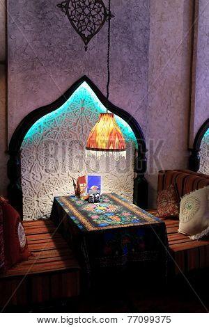 Interior Of Uzbek Restaurant